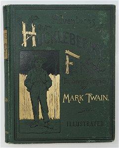 Huckleberry Finn by Mark Twain 1885 1st American