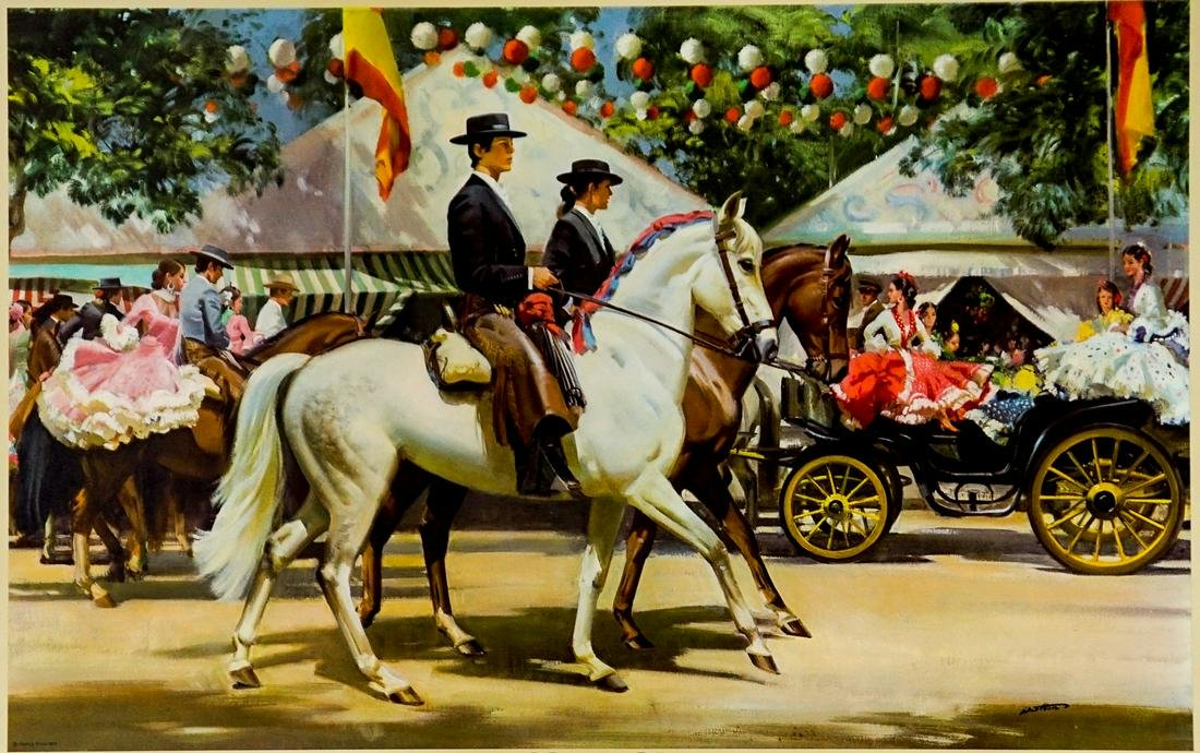 Frank Wootton Limited Edition Print [Horses]