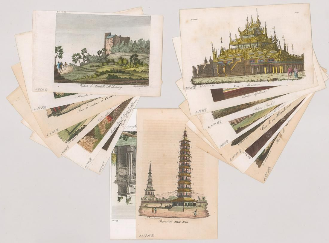 Various Assorted Small Prints [Architecture]