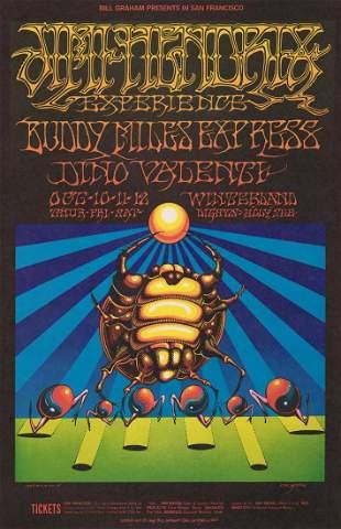 Jimi Hendrix 1968 Poster BG-140-OP-1