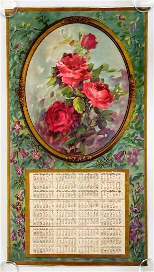 Laura H Jacobs 1929 Floral Calendar