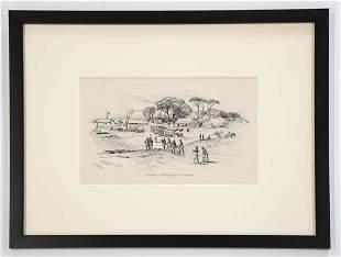 Edwin Forbes Civil War Print