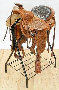 Big Horn Brand Saddle