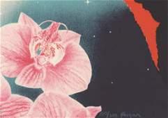 Michael Jay Knigin Lithograph [Flower, Still Life]