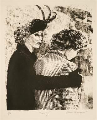 Ann Chernow RARE Lithograph [Women]