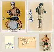Group of Boxing Autographs 5