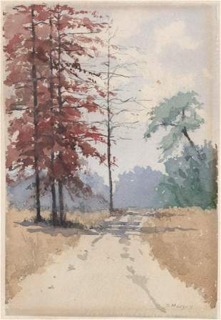 Mary DeNeale Morgan Original Watercolor