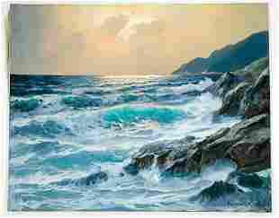 Alexander Dzigurski (1911 - 1995) Original Oil