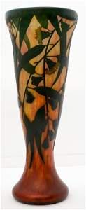 Monumental Daum Nancy 19.5-in. Cameo Glass Vase