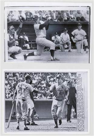 Roger Maris Press and Wire Photos 2