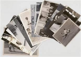 Vintage Baseball Press Wire Publicity Photos