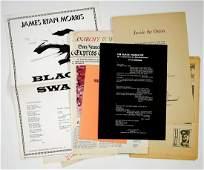 [Activism, 1960's] Group of Broadsides, Poems