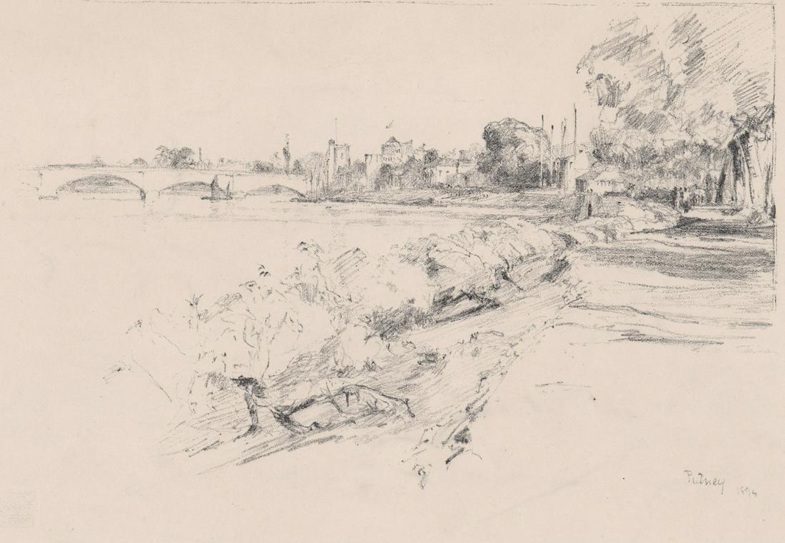 Frank Job Short Lithograph [Landscape]