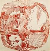 John Altoon Lithograph [TP, Abstract]