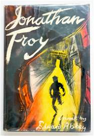Jonathan Troy by Edward Abbey 1954 1st Ed