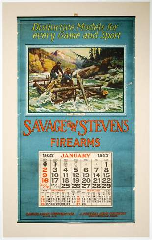 Philip R. Goodwin for Savage and Stevens Calendar