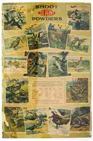 DuPont 1920 Advertising Poster