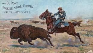 DuPont Original Antique Advertising Sign