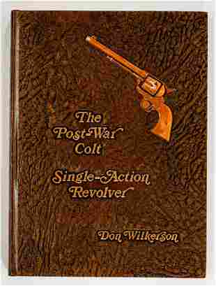 Post-War Colt by Wilkerson SIGNED LTD 1st