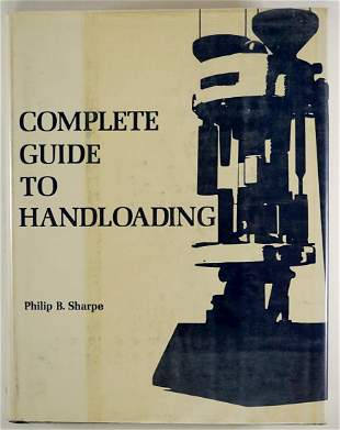 Guide to Handloading by Sharpe 1953