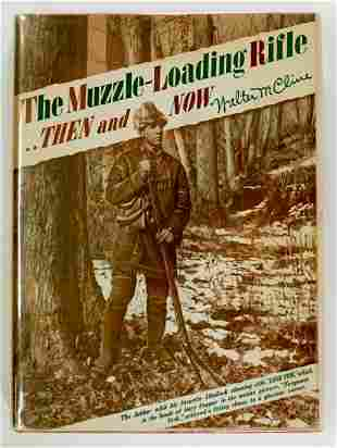 MuzzleLoading Rifle by Cline 1942 1ST