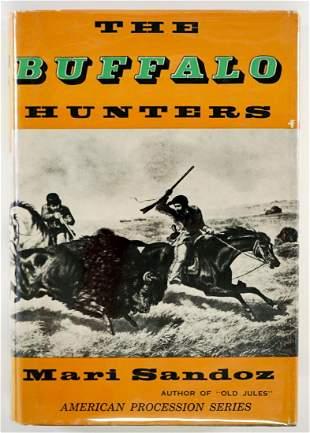 The Buffalo Hunters by Sandoz 1954 1ST