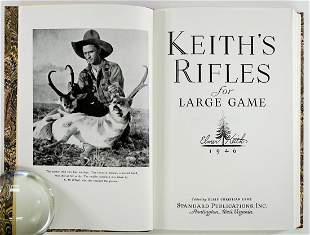 Keiths Rifles for Large Game 1986 Reprint