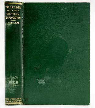 The FurTrade by Clarence A Vandiveer 1929