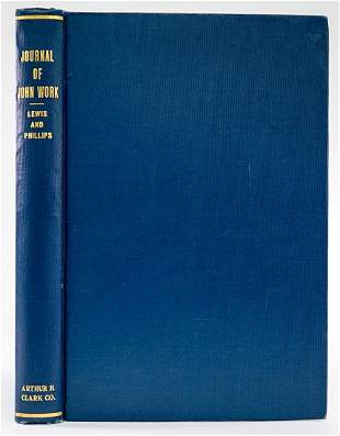 Journal of John Work by Lewis and Phillips 1923