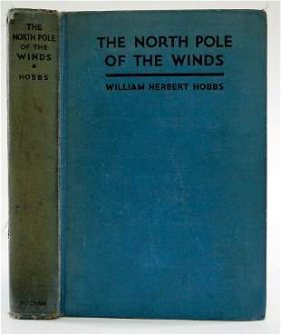 Exploring About the North Pole by Hobbs SIGNED