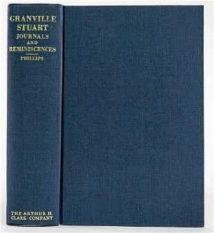 Granville Stuart Journals by Phillips 1967