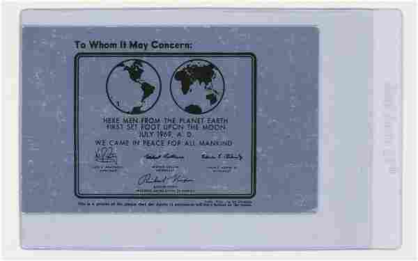 Apollo 11 First Man On The Moon FDC