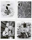 Vintage NASA Surveyor Photographs (4)