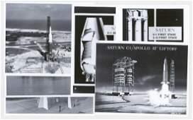 Saturn C-1 NASA Vintage Photographs (6)