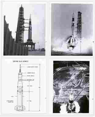 Saturn I SA6 NASA Vintage Photos 4