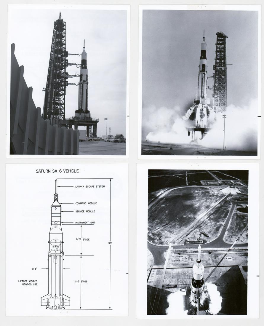 Saturn I SA-6 NASA Vintage Photos (4)