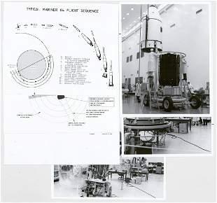 1964 Mariners Mars NASA Vintage Photographs 6