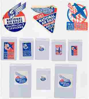 19291938 National Air Races Decals 11