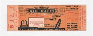 1934 RARE PanAmerican Air Races New Orleans