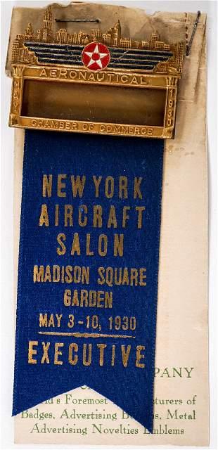 1930 New York Aircraft Salon Madison Square Garden