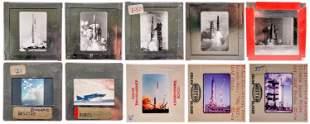 Vintage NASA Launch Color Slides 10