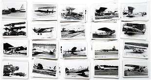 [Aviation, Airplanes] Black & White Reprints 1,400