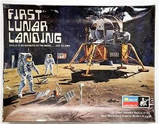 First Lunar Landing 1970 Monogram Model Kit