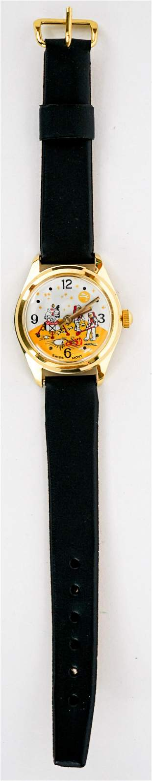 1960's/70's Moon Space Character Watch