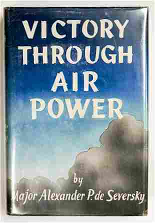Victory Through Air Power Signed de Seversky
