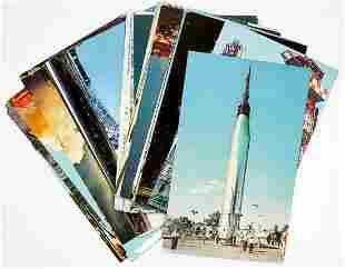 NASA Rockets and Missiles Vintage Postcards (34)