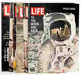 NASA Vintage LIFE Magazines (6)