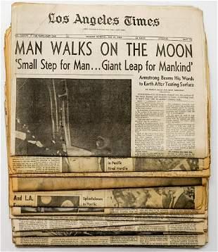 NASA Moon Landing Newspapers (18)