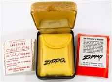 Lyndon B. Johnson 10K Gold Filled Zippo Lighter