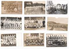 Antique Baseball Team Real Photo Postcards (9)